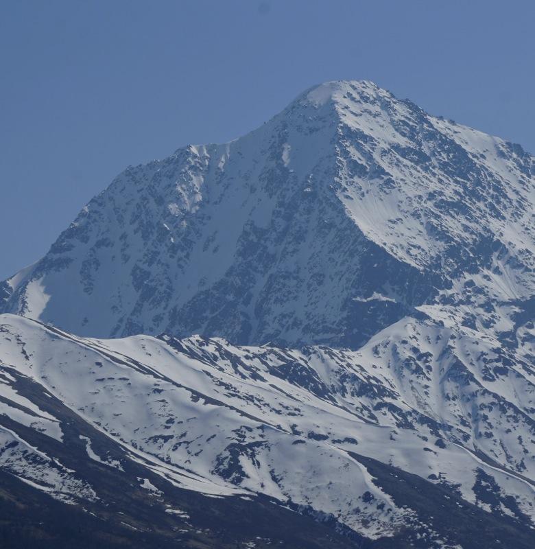 Northwest face of Bold Peak