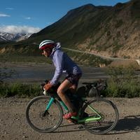 Lael bikes through Alaska with her Viscacha