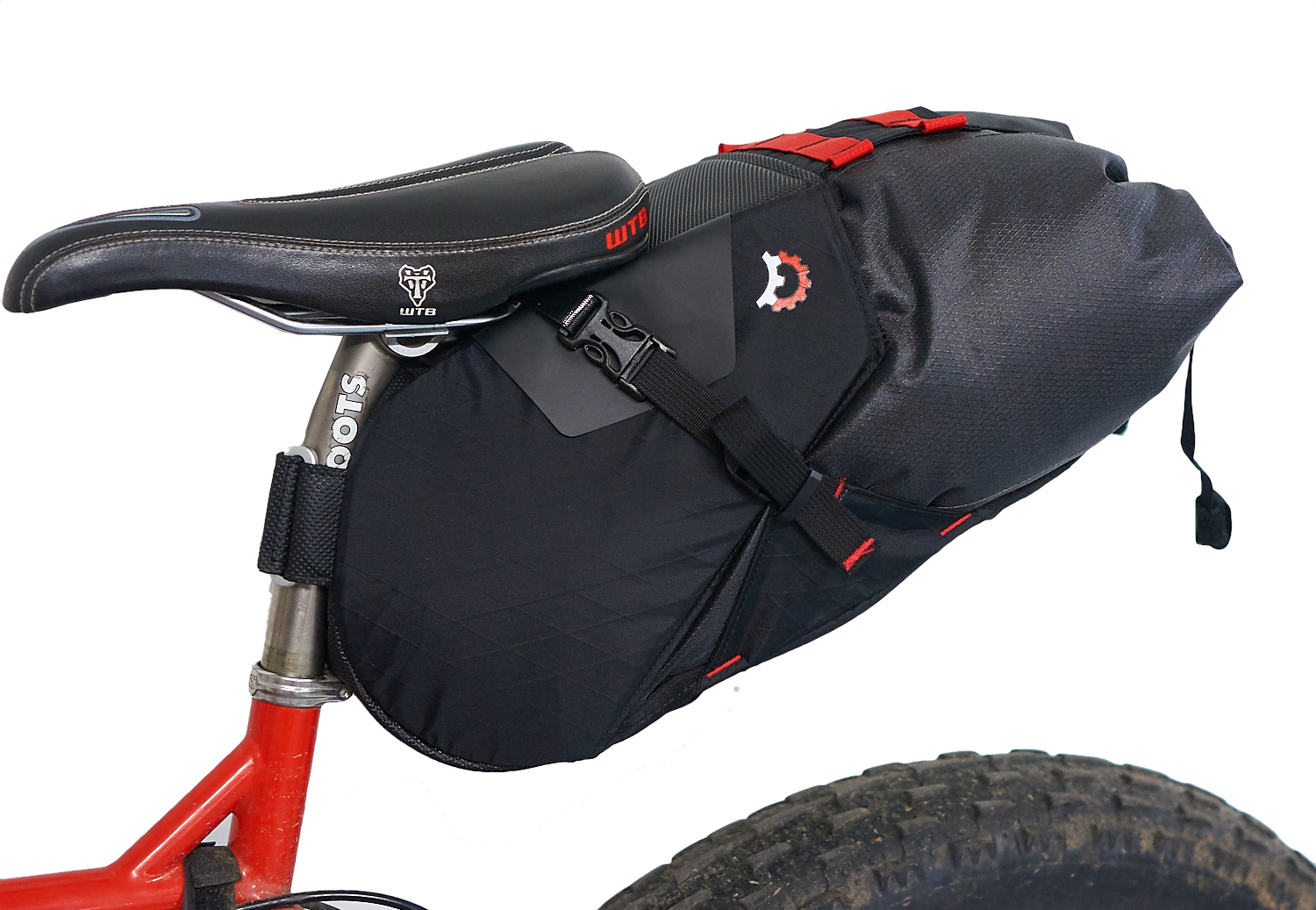 mounted side with drybag