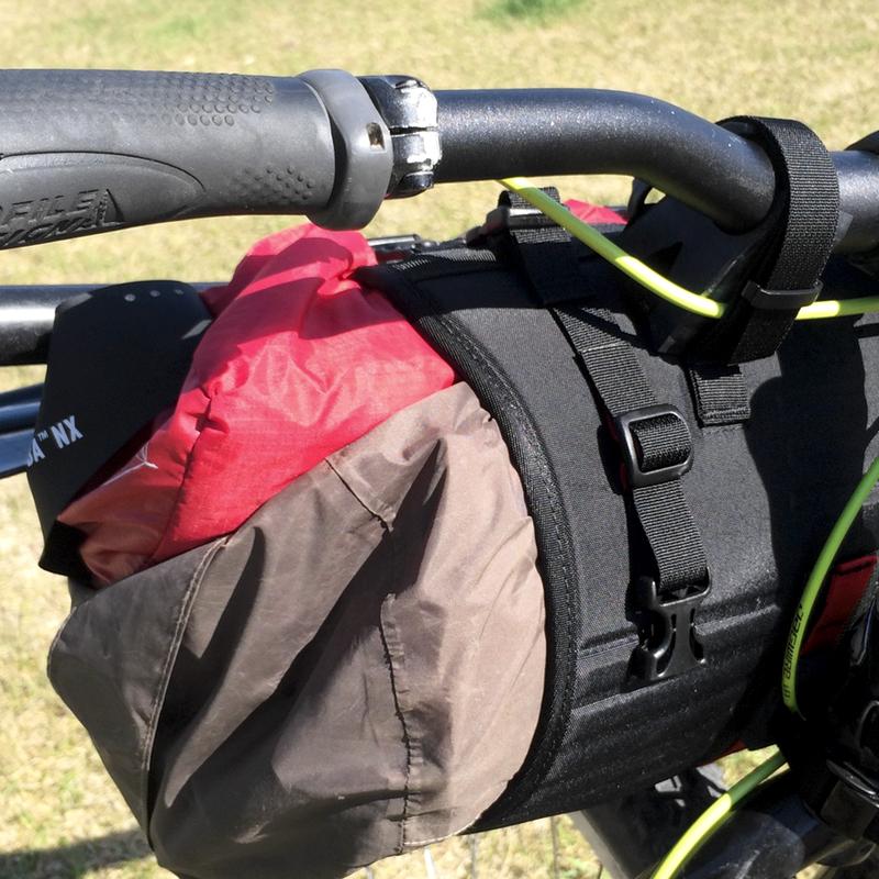 pocket straps installed
