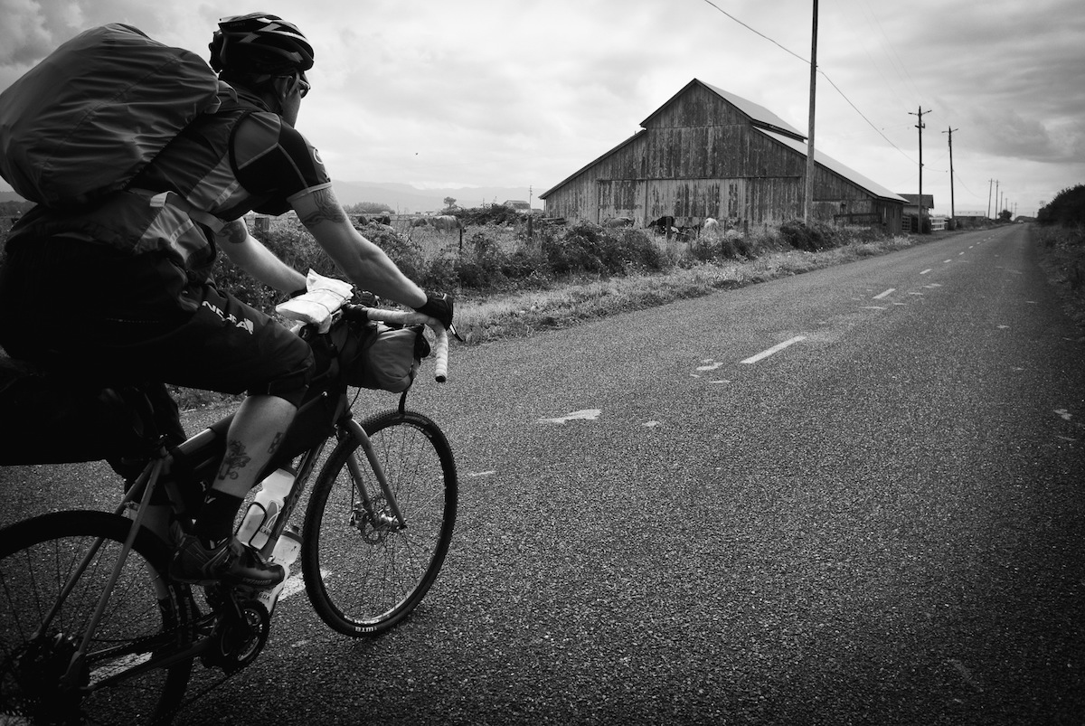 "Erik on the 500-mile Lost Coast ""Lower"" (in California)."