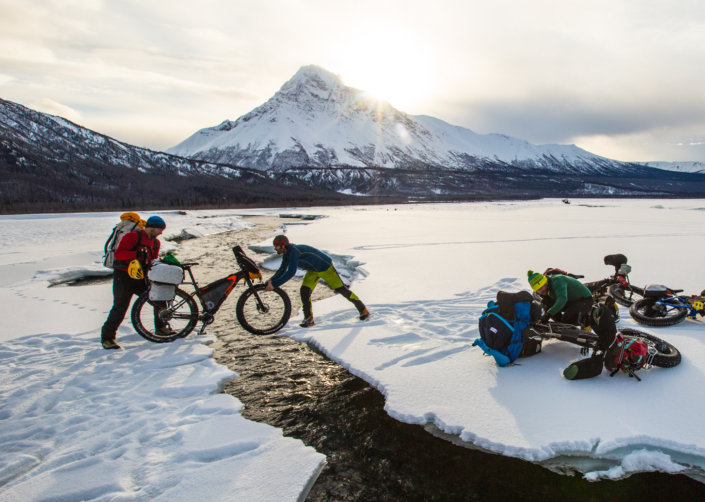 Bike Alpinism!